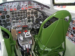 Viscount Co Pilots seat